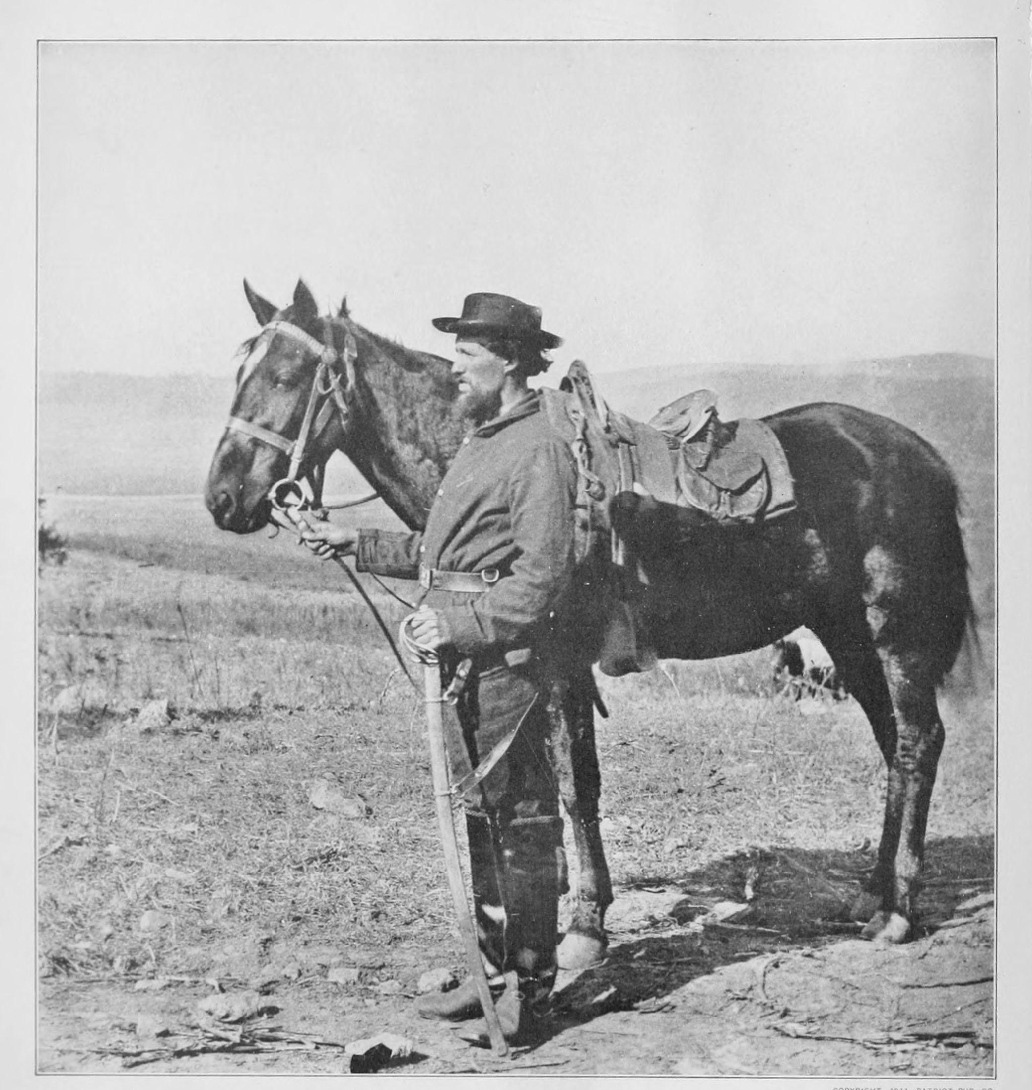 Union Cavalryman from 1862