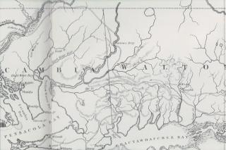 Barrows Ferry map 1827-2
