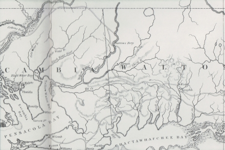 Barrows Ferry map 1827-2