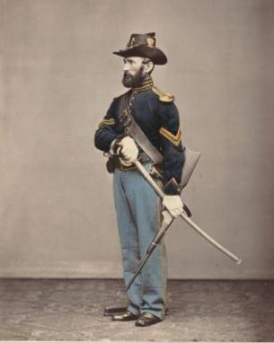 A Union Corporal in uniform