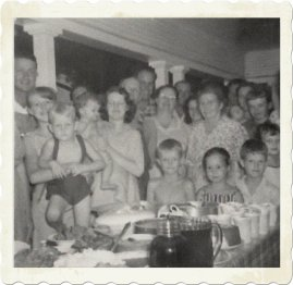 Family reunion late 1950s