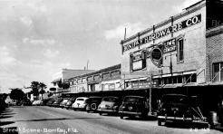 Downtown Bonifay 1940s