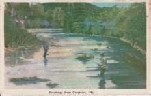 River near Crestview, not identified, maybe Shoal