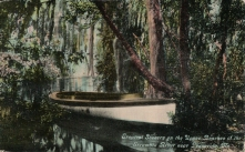 Upper reaches of the Escambia River, postmarked 1911