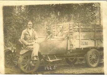 Oren Stewart, married to my Dad's Aunt Versie Mae Marsh