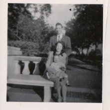 My parents & me in 1952