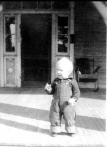My Dad as a young boy