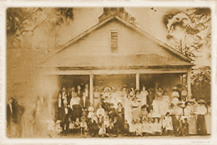 Yellow River Church 1917 for poster