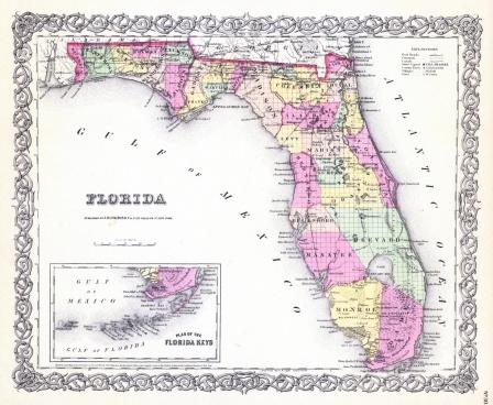 1856 Florida G. W. Colton