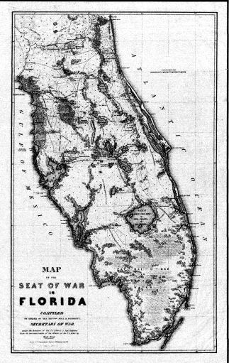 Seat of FL War 1838 Washington Hood