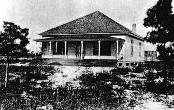 Public School Building in Carrabelle, Florida 1910s
