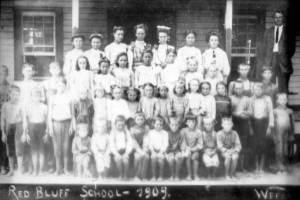 Red Bluff School, Escambia Co, FL