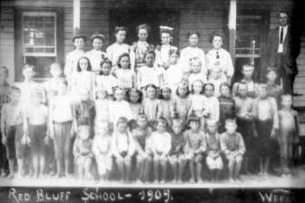 Red Bluff School, Escambia Co, FL