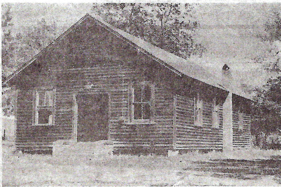 Yellow River Baptist Church, Okaloosa Co, FL, 1938-1960