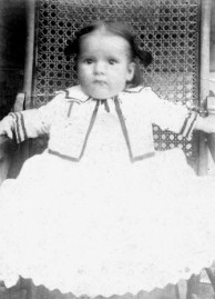 Lois Brett as a baby in Holmes Co.