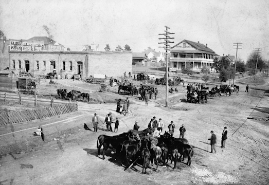 Street Scene, Bonifay, Florida, 1908