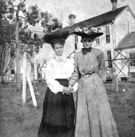 Two Women at the Florida State Normal School