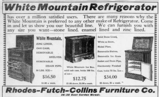 refrigerator ad Jun 1909