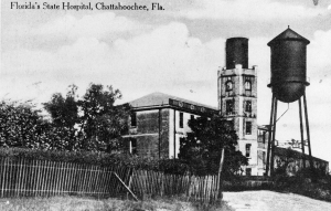 View of the Florida State Hospital - Chattahoochee, FL, ca 1913