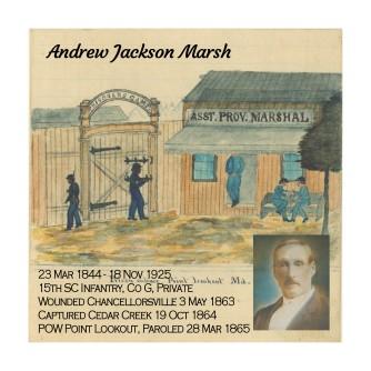 Andrew Jackson Marsh's centerr block