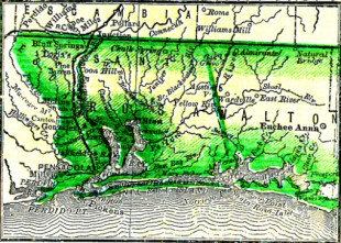 Insert from 1880 FL map
